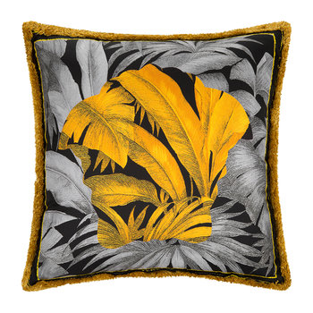 Depalma Reversible Silk Pillow - 50x50cm - Gold