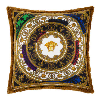 I Love Baroque Silk Pillow - 50x50cm - Multi