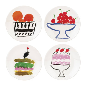 Pretty Pantry Appetiser Plates - Set of 4