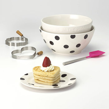 Deco Dot Appetiser Plates - Set of 4