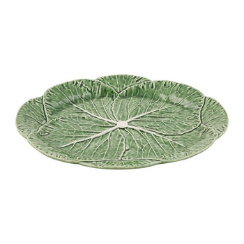 Cabbage Oval Platter - 43cm