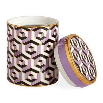 Versailles Canister - Purple