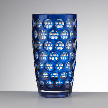High Lente Acrylic Highball Tumbler - Blue