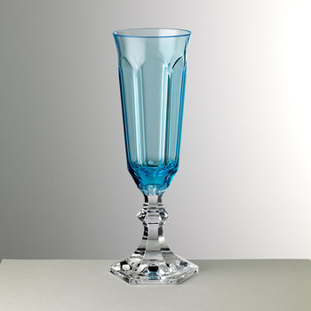 Flute Champagne Glass - Turquoise