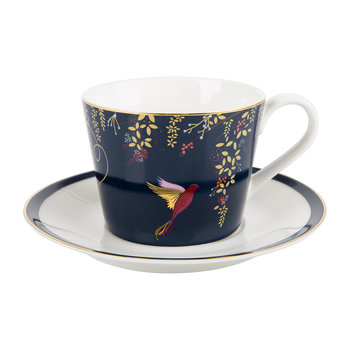 Chelsea Collection Teacup & Saucer - Navy