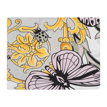 Le Jardin Satin Duvet Cover - Super King