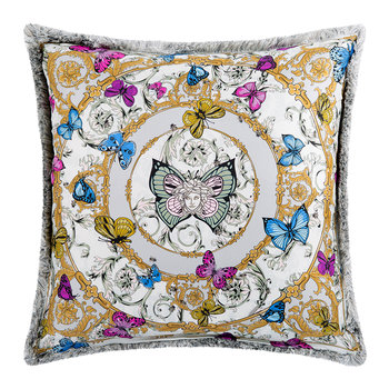 Le Jardin Silk Reversible Pillow - 50x50cm