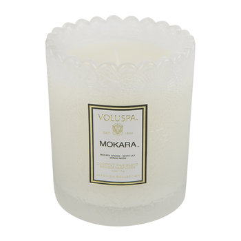 Scalloped-Edge Candle & Diffuser Gift Set - Mokara