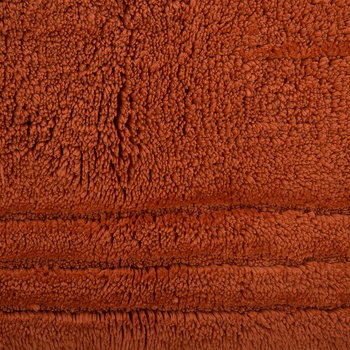 Christy Tufted Bath Mat - Paprika