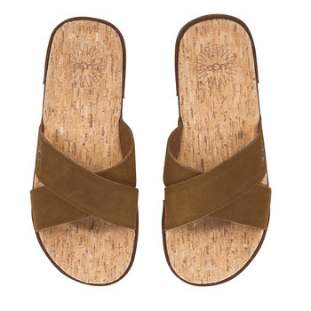 Men's Ithan Cork Sandals - Tamarind