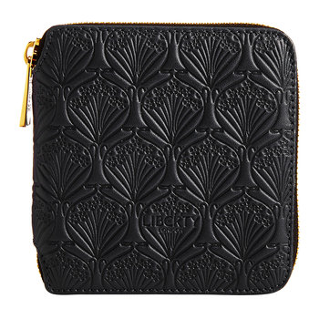 Black Embossed Wallet