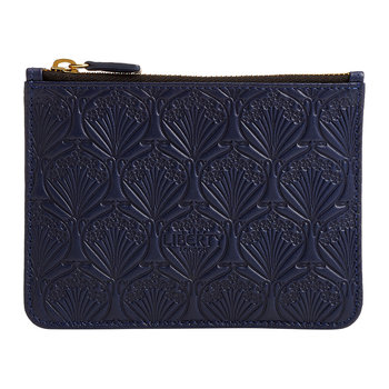 Embossed Coin Pouch - Navy