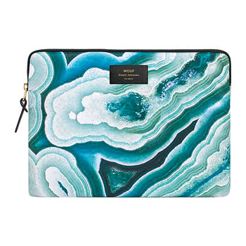 Blue Mineral Laptop Case