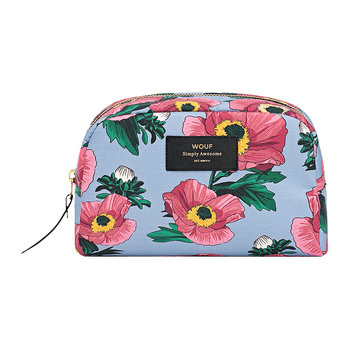 Flowers Cosmetic Bag