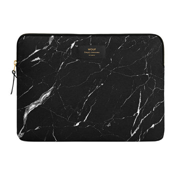 Marble Laptop Case - Black