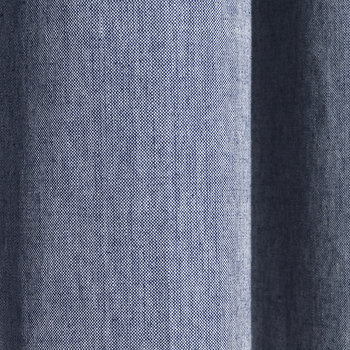 Chambray Shower Curtain - Blue