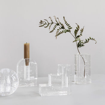 Bubble Glass Object - Clear - Stairs