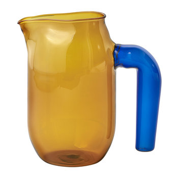 Jochen Holz Glass Jug - Amber - Small