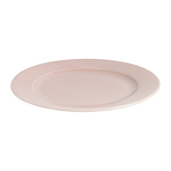 Porcelain Rainbow Plate - Medium - Light Pink