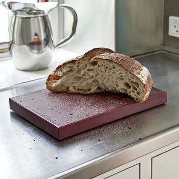 Rectangular Chopping Board - Medium - Bordeaux