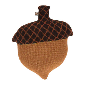 Acorn Cushion - Brown - 45x35cm
