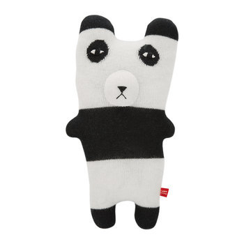 Knitted Lambswool Creature - Pia Panda