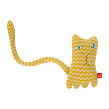 Knitted Lambswool Creature - Ziggy Cat