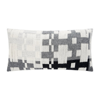 Pennan Woven Cushion - Black/White