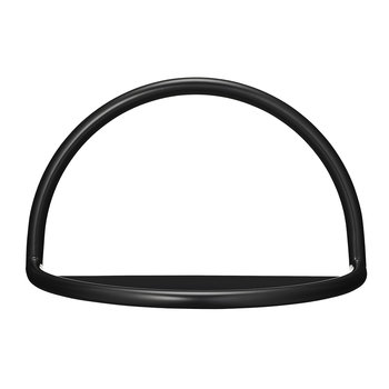 Angui Iron Shelf - Black - 39cm