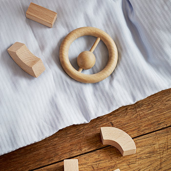 Wooden Children's Rattle - Beech