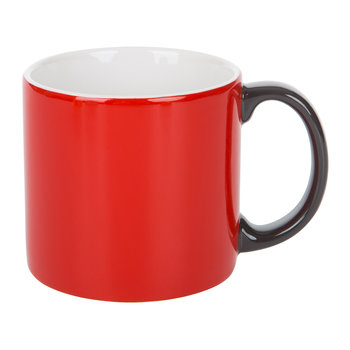 My Mug XL - Red & Grey