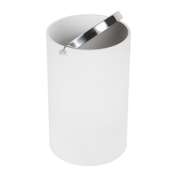 Stone BEMD Trash Can - White