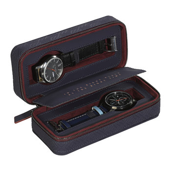 Travel Watch Case - Blue Cadet
