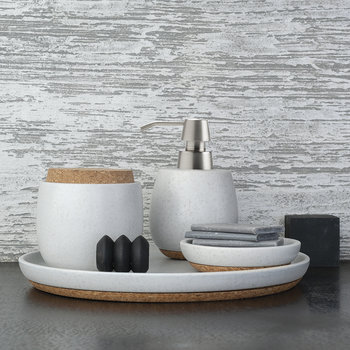 Arona Soap Dish - Light Grey