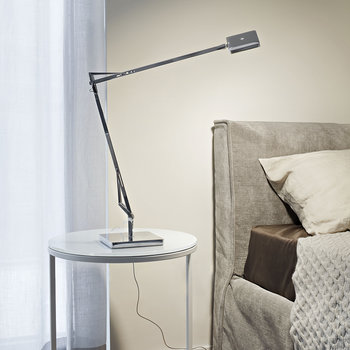 Kelvin Edge Table Lamp - Titanium
