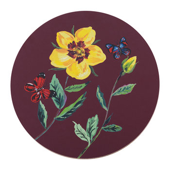 Nathalie Lete Rose Placemat - China Rose