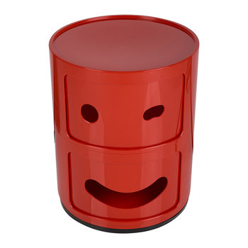 Componibili Smile Storage Unit - Red