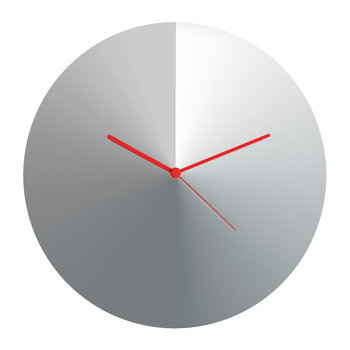 Arris Wall Clock - Stainless Steel