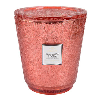 Japonica Hearth Candle - 3.5kg - Persimmon & Copal