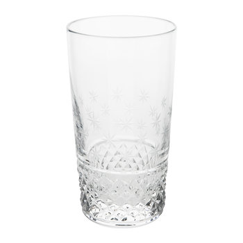 Shimmering Stars Tall Glass Tumbler