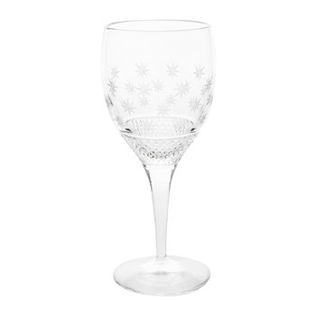 Shimmering Stars Wine Glass