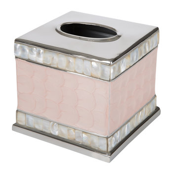 Classic Tissue Box Cover - Pink Ice