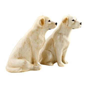 Golden Labrador Salt & Pepper Shakers