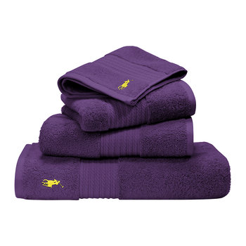 Polo Player Towel - Violet
