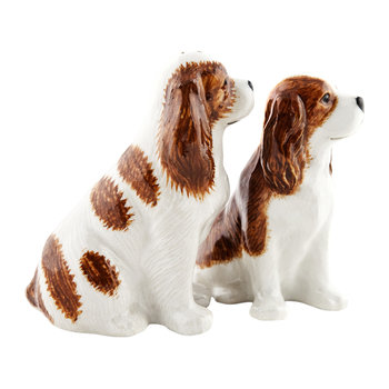 Cavalier King Charles Spaniel Salt & Pepper Shakers - Bleinham