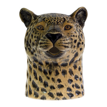 Ceramic Leopard Pitcher