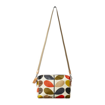 Laminated Multi Stem Small Cross Body Bag
