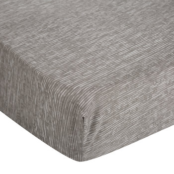 Acacia Grey Textured Fitted Sheet