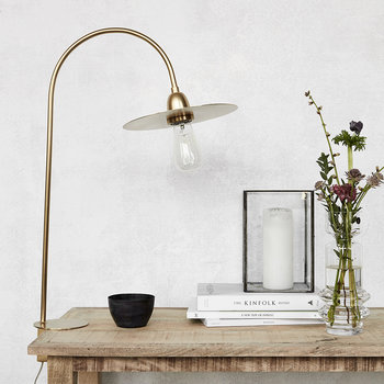 Glow Table Lamp - Brass
