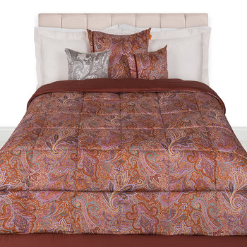 Almeria Quilted Bedspread - 270x270cm - Red